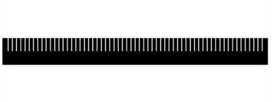Phyto Plus  Aquarium Weir Combs 300mm All sizes All colours