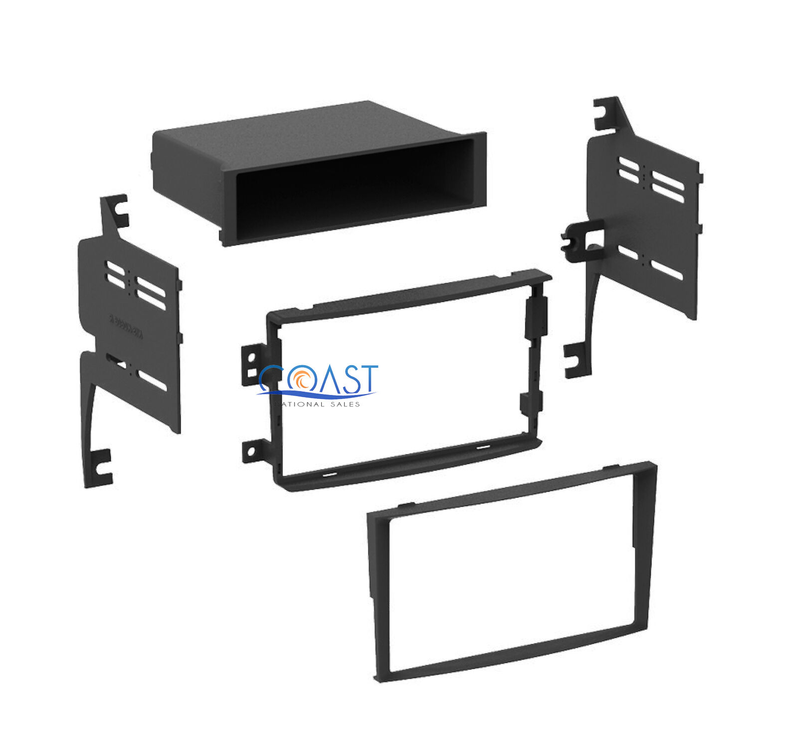 Single Double Din Car Stereo Dash Kit Wiring Harness For 2006 2008 1 Of 3free Shipping