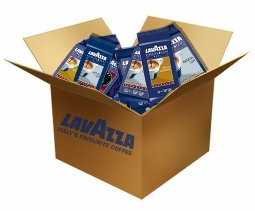 Lavazza EP MAXI coffee capsules sample pack containing 40 capsules