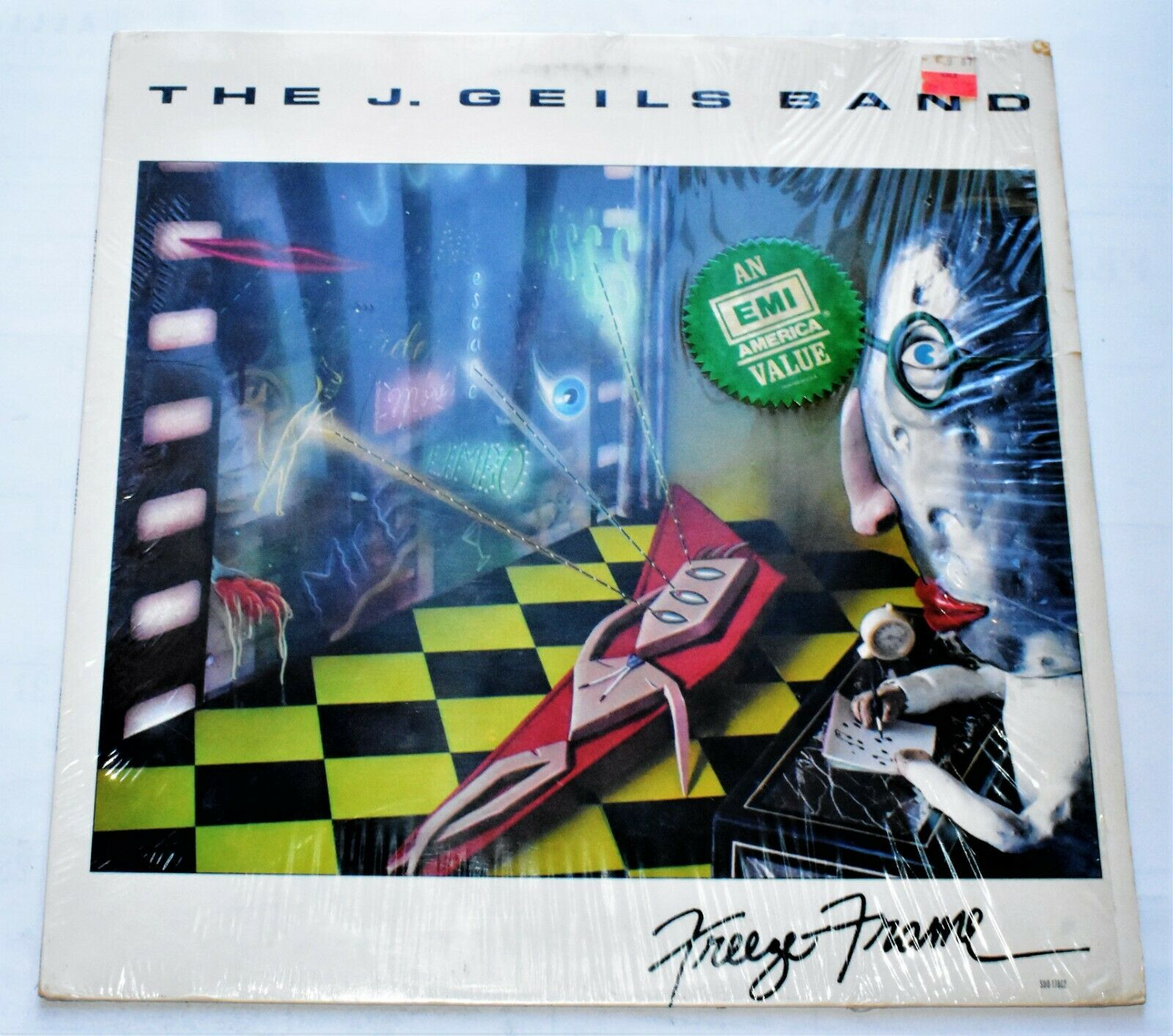 Beautiful The J Geils Band Freeze Frame Ensign - Framed Art Ideas ...