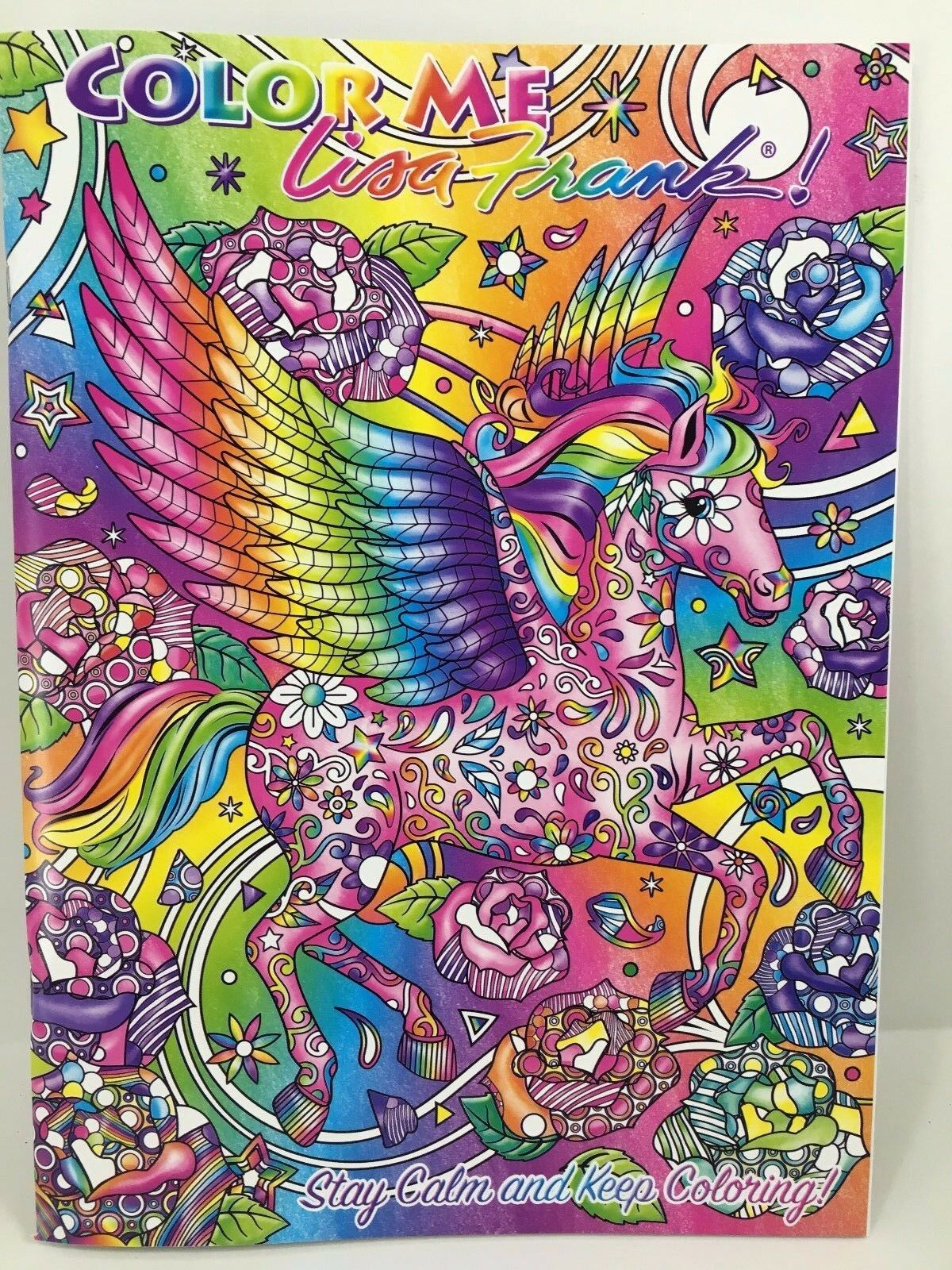 Unicorn Coloring Pages Lisa Frank