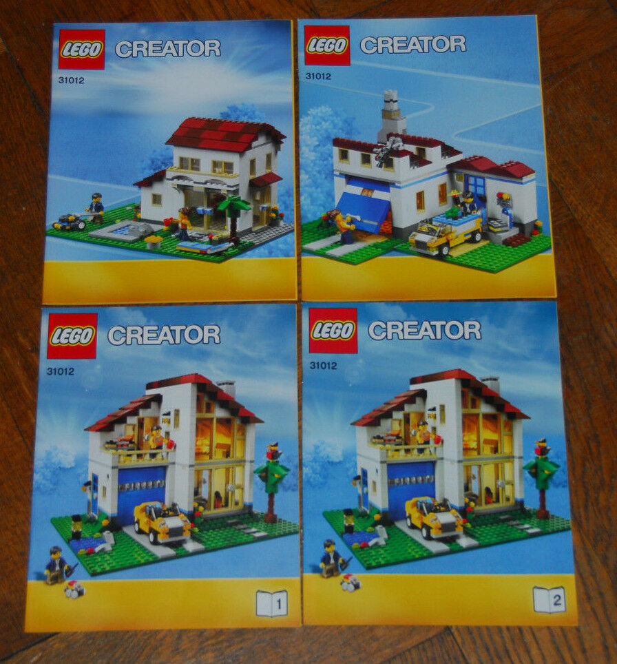 LEGO Bauanleitung Instruction Manual Creator Family