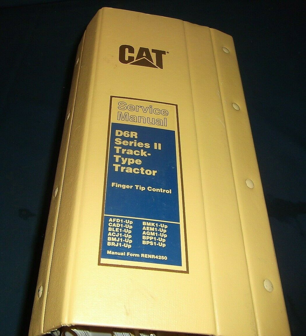 Cat Caterpillar D6R Series Ii Tractor Dozer Service Shop Repair Book Manual  1 of 11Only 1 available Cat Caterpillar D6R Series ...