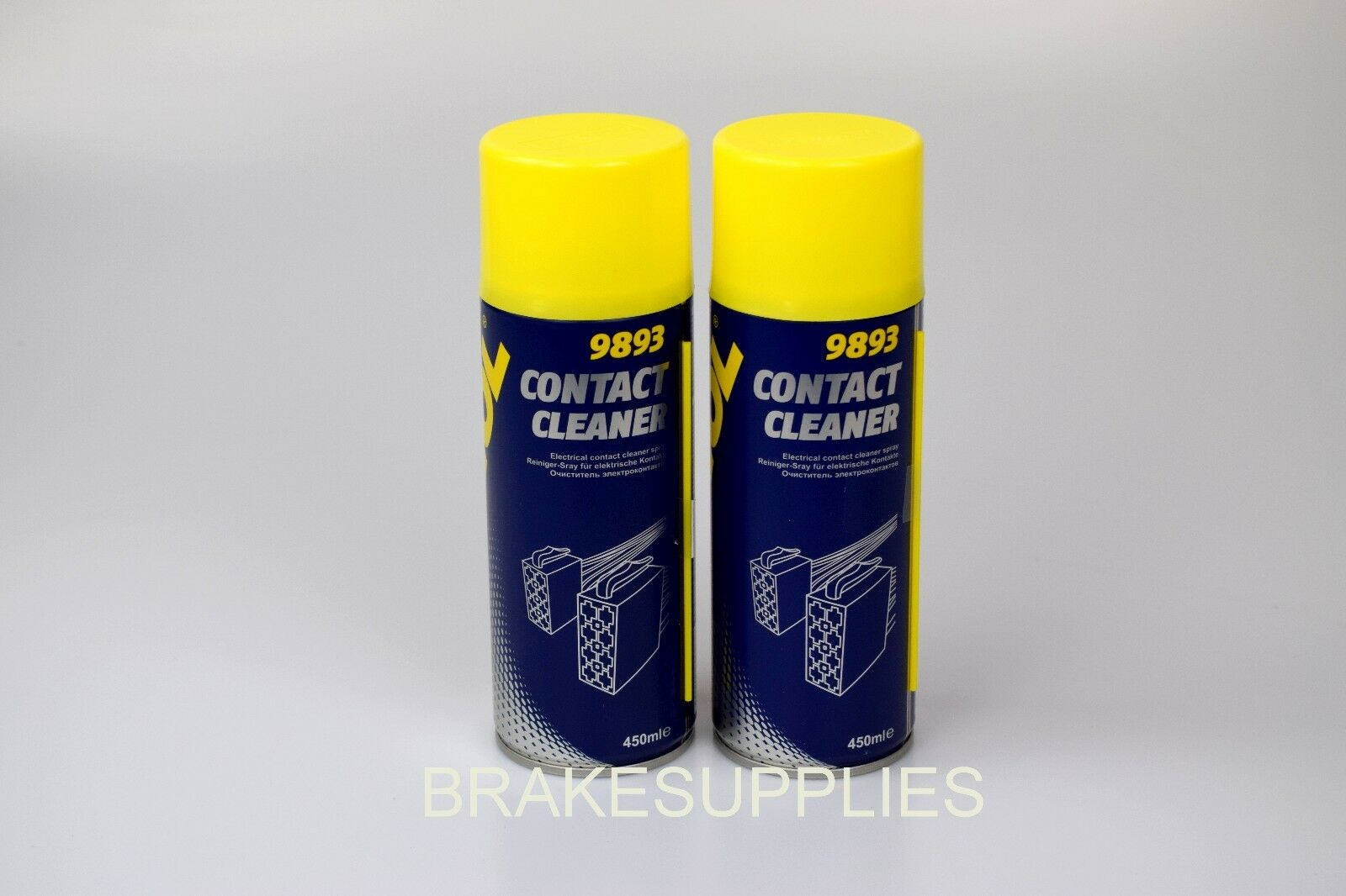 2 X Electrical Contact Cleaner Spray Aerosol 450ml Can German Hi And Circuit Board 1 Of 1free Shipping