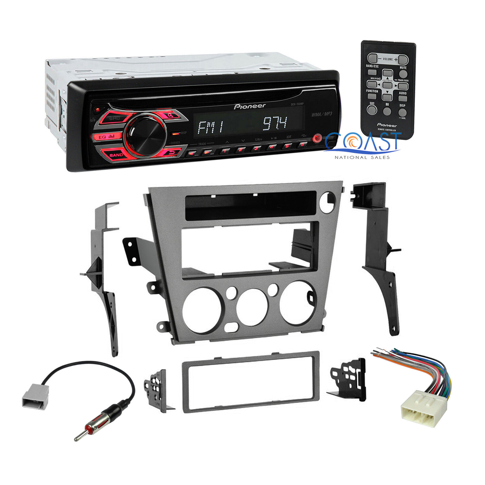 Pioneer Car Radio Stereo Dash Kit Harness For 2005 2009 Subaru Outback Wiring Legacy 1 Of 6free Shipping See More
