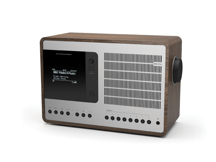 revo superconnect internet dab radio dab fm alarm clock spotify bluetooth. Black Bedroom Furniture Sets. Home Design Ideas