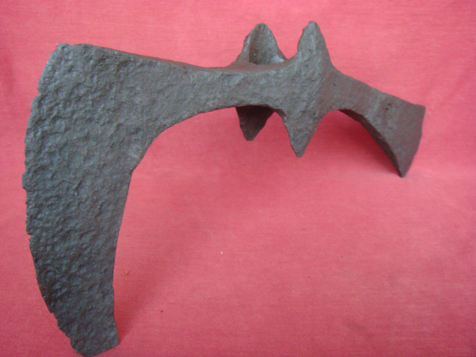 Superb!!! Ancient VIKING Iron Battle Double Axe Head 4th - 8th c