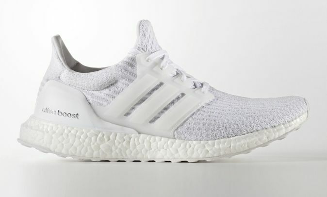 Adidas Ultra Boost All White Triple White 3.0 Mens BA8841 Size: 7-15 1 of 2FREE Shipping Adidas Ultra Boost ...