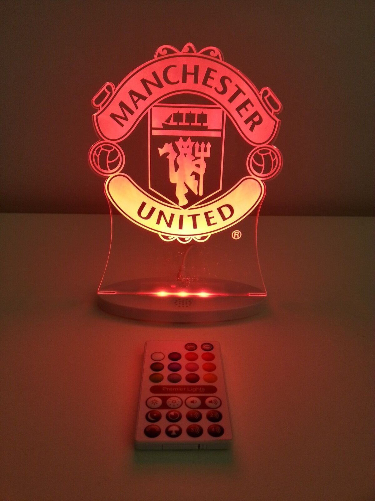 Manchester United Led Light Official Club Merchandise