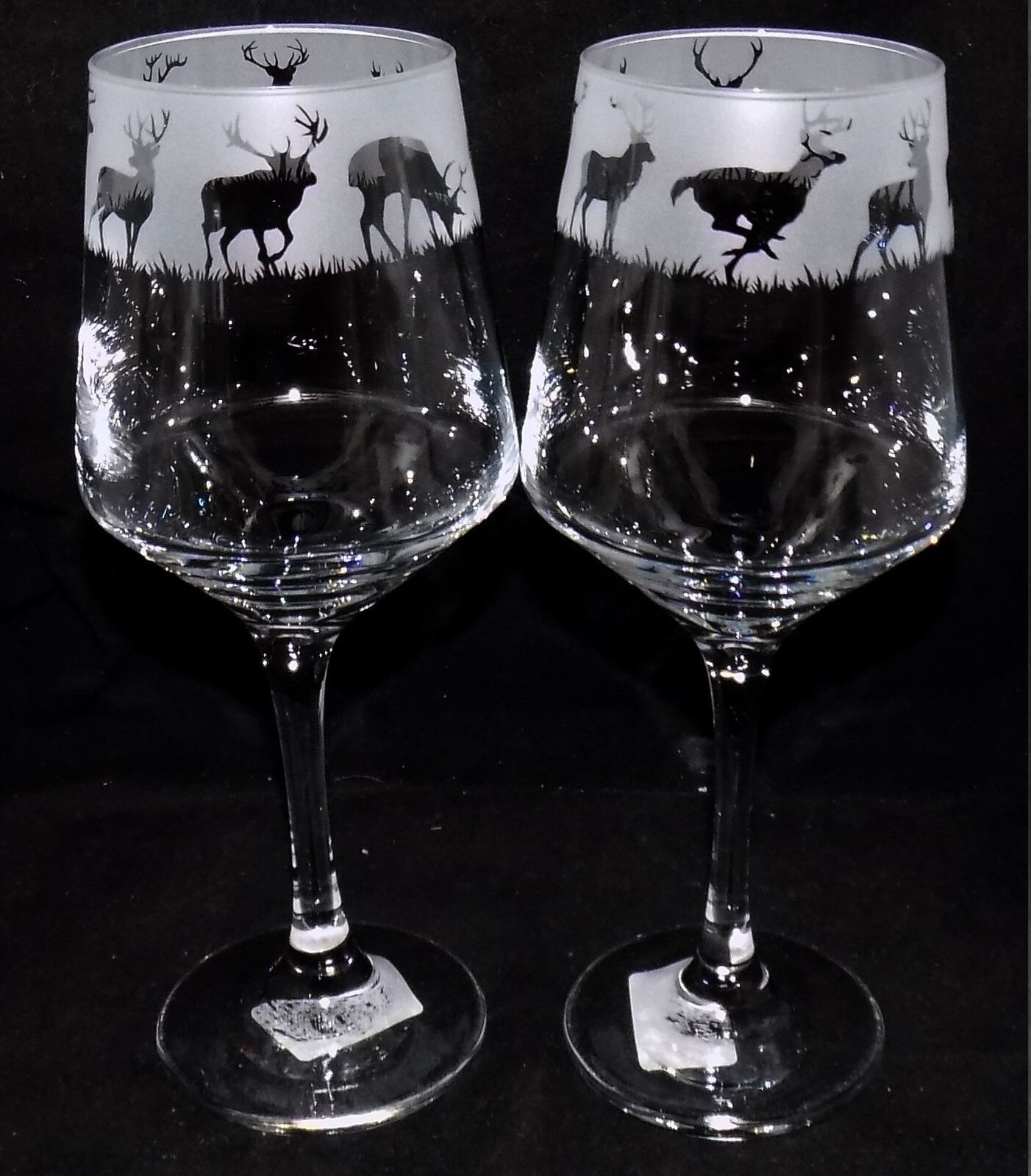 New etched stag deer wine glass es you can purchase 1 Unique wine glasses australia