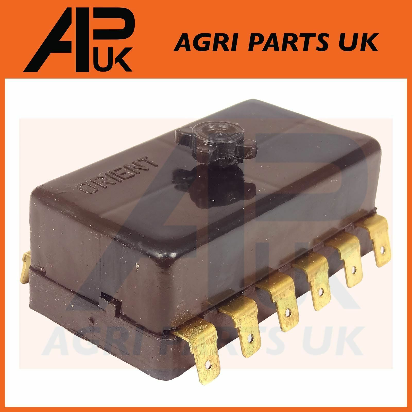 Massey Ferguson 265275285290298 Tractor Electric Fuse Box Ford 5000 1 Of 3free Shipping