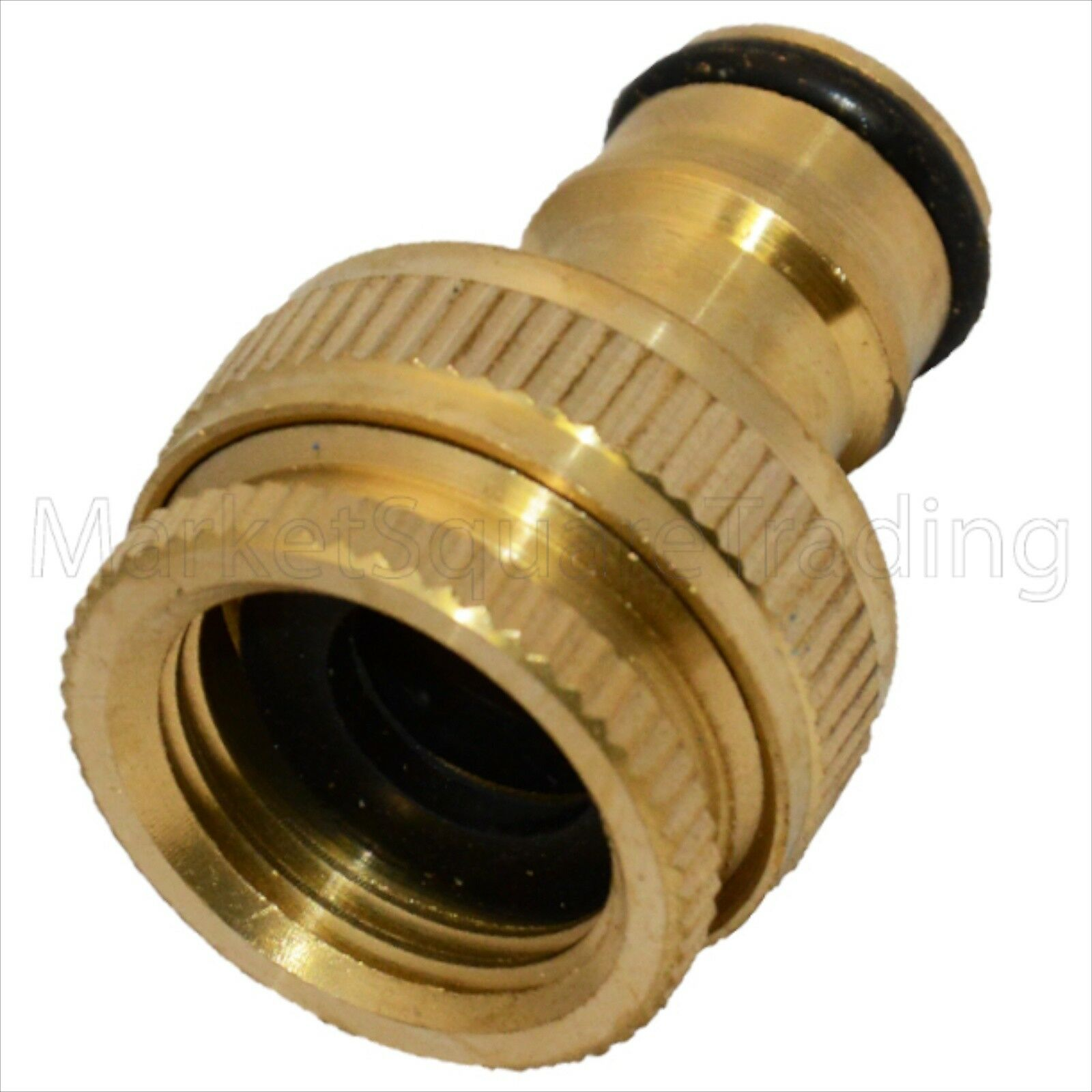 OUTSIDE TAP CONNECTOR Brass 1/2\