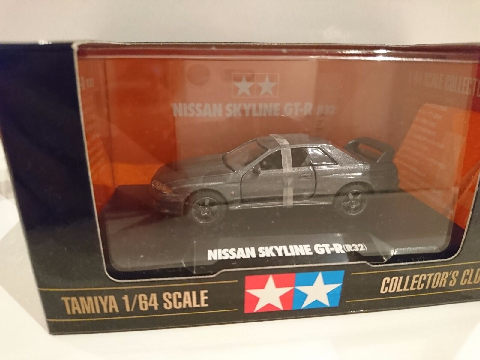 Tamiya Collectors Club Nissan Skyline Gt R R32 164 2907 Initial D Rr32 No 141 Dream Tomica 1 Of 1only Available