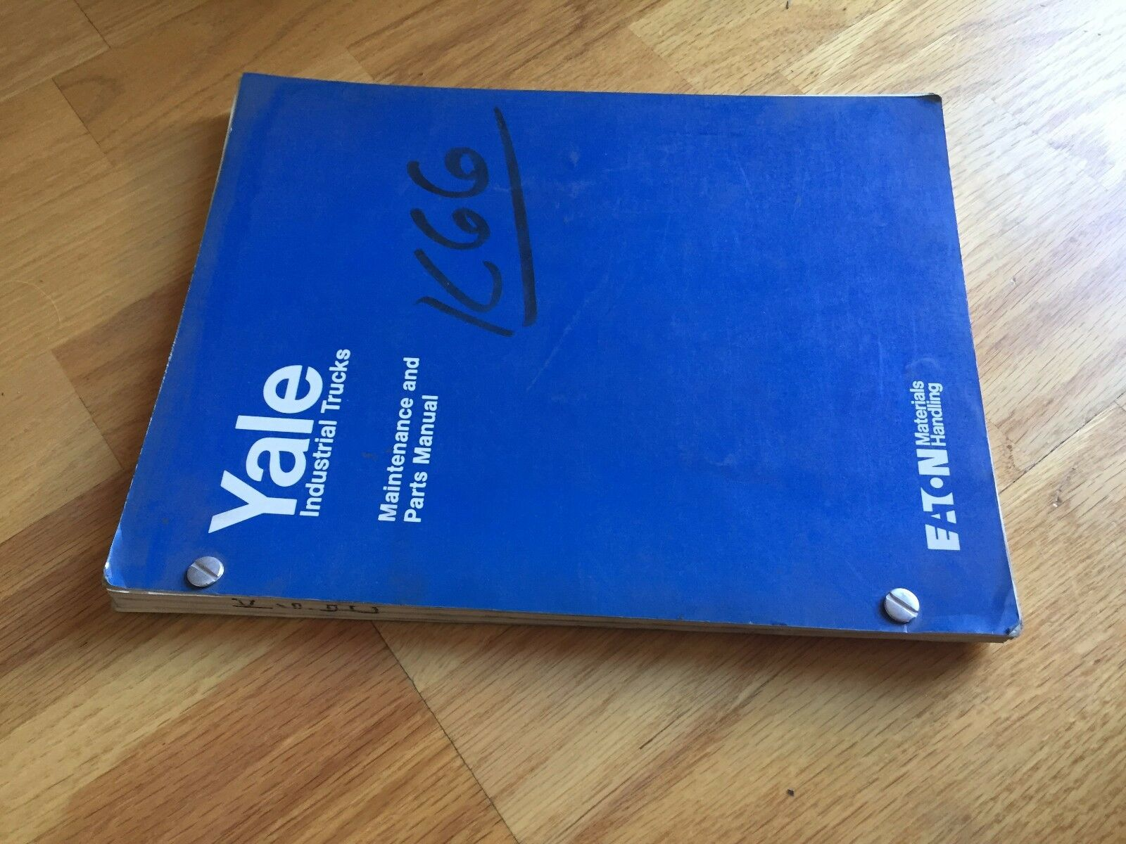 Yale K66c 66 Electric Forklift Parts Catalog Maintenance Manual Wiring Diagram Truck 1 Of 1only Available