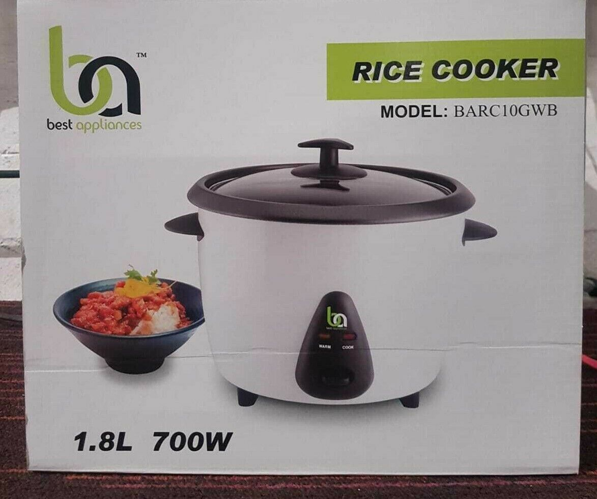 rice cooker 1 8 lt 700 with energy saving switch non stick brand new bargain eur 22 48. Black Bedroom Furniture Sets. Home Design Ideas