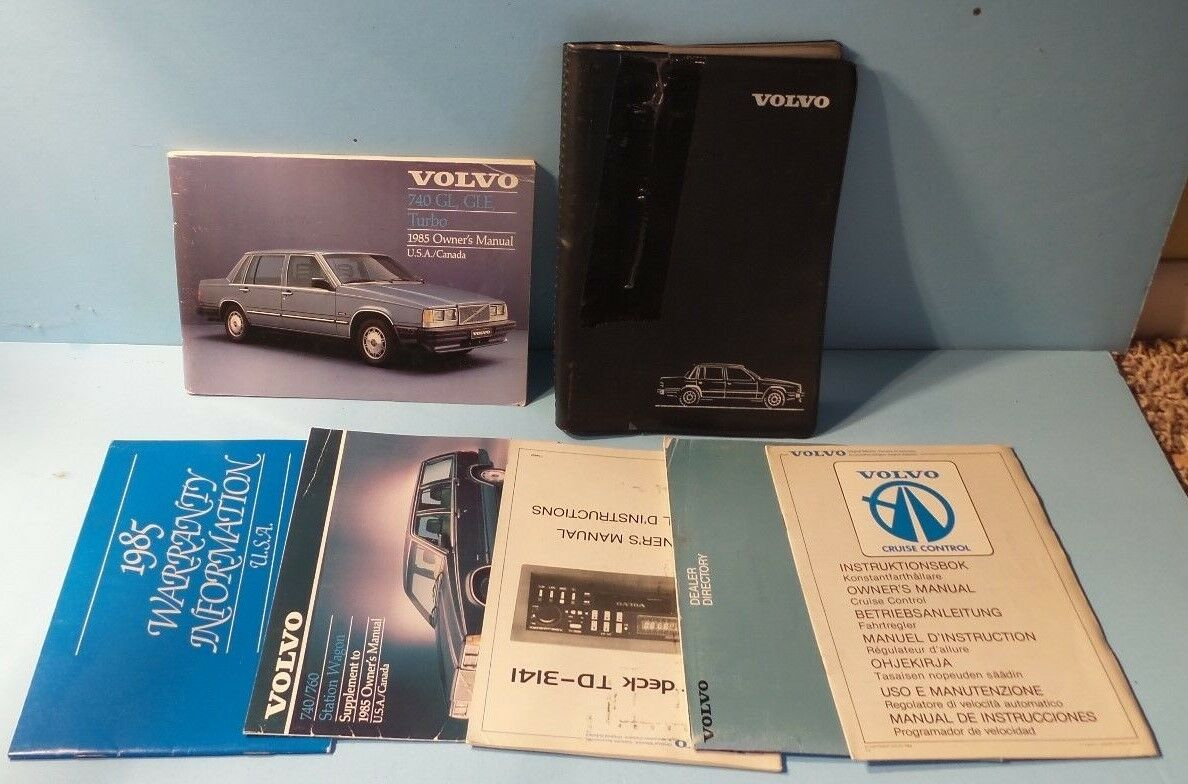 1985 Volvo 740 Turbo Specs Wiring Diagram Free Download 1990 Gle Wagon Engine 85 Gl Station Owners Manual 700 Excavator