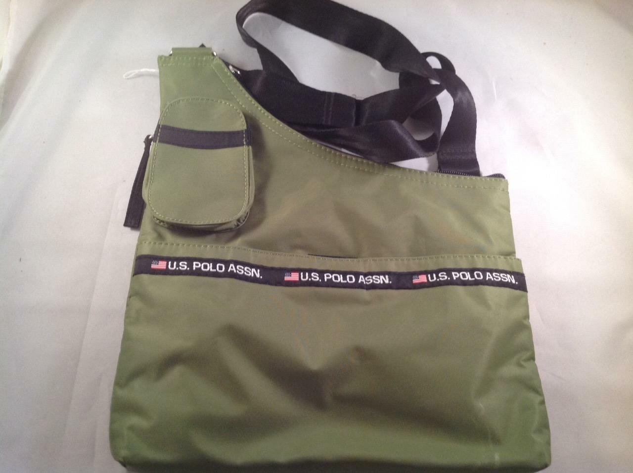 97fa334c2d US Polo Assn. Messenger Cross Body bag Green New 1 of 1Only 1 available See  More