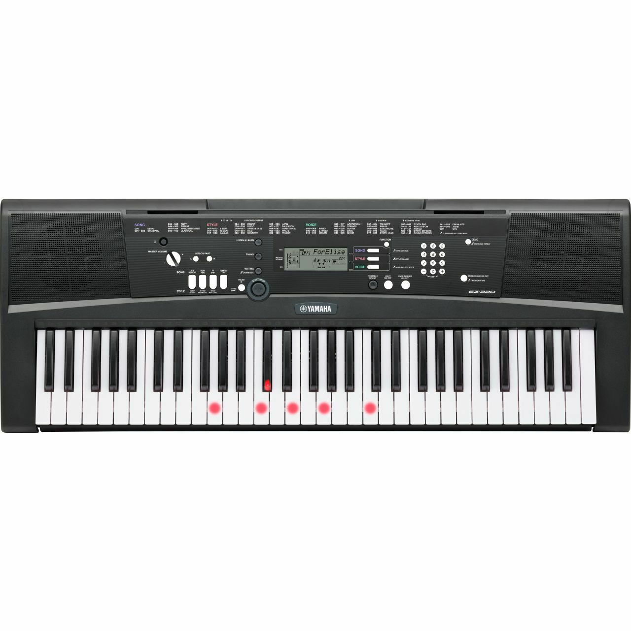 yamaha ez 220 keyboard eur 229 00 picclick it. Black Bedroom Furniture Sets. Home Design Ideas