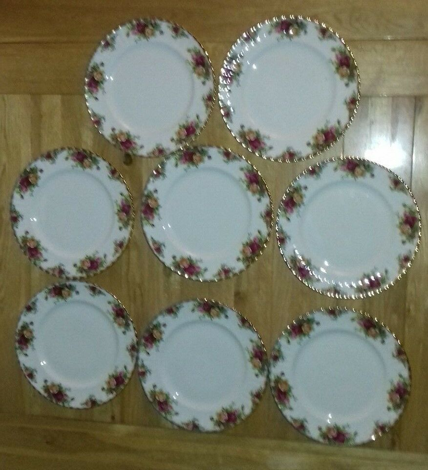 Royal Albert Old Country Rose Dinner Plates 96