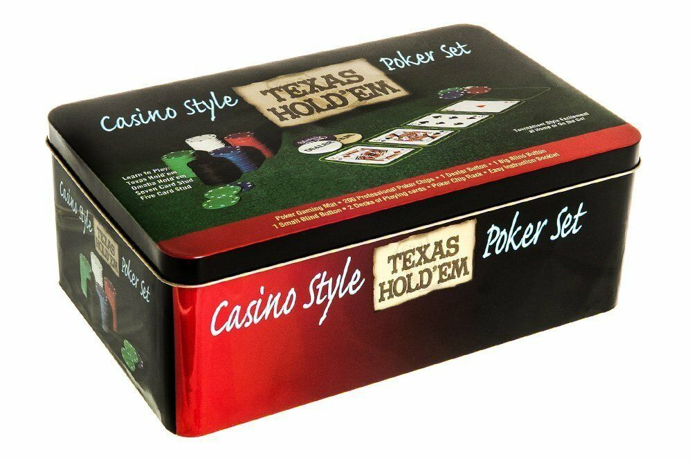 casino style texas holdem poker set