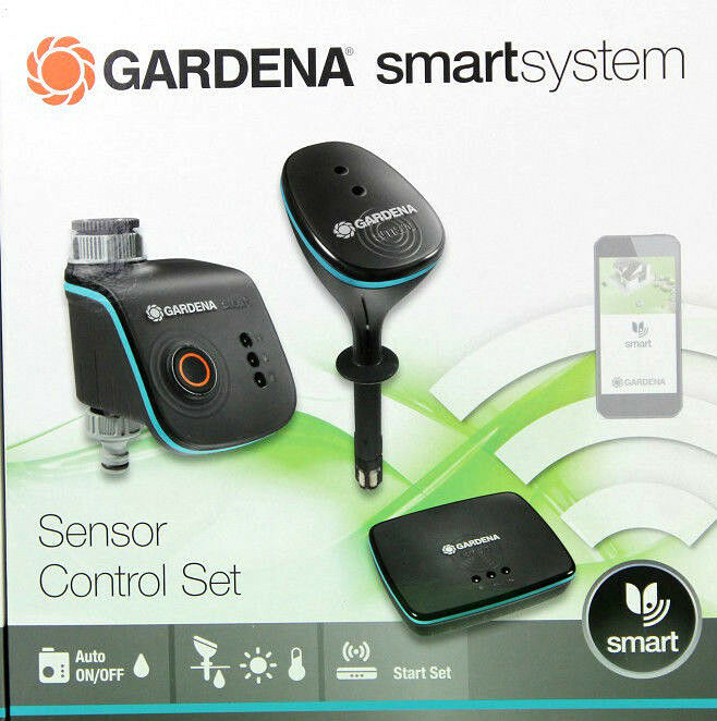 gardena smartsystem sensor control set bew sserung per app start set neu ovp eur 349 00. Black Bedroom Furniture Sets. Home Design Ideas