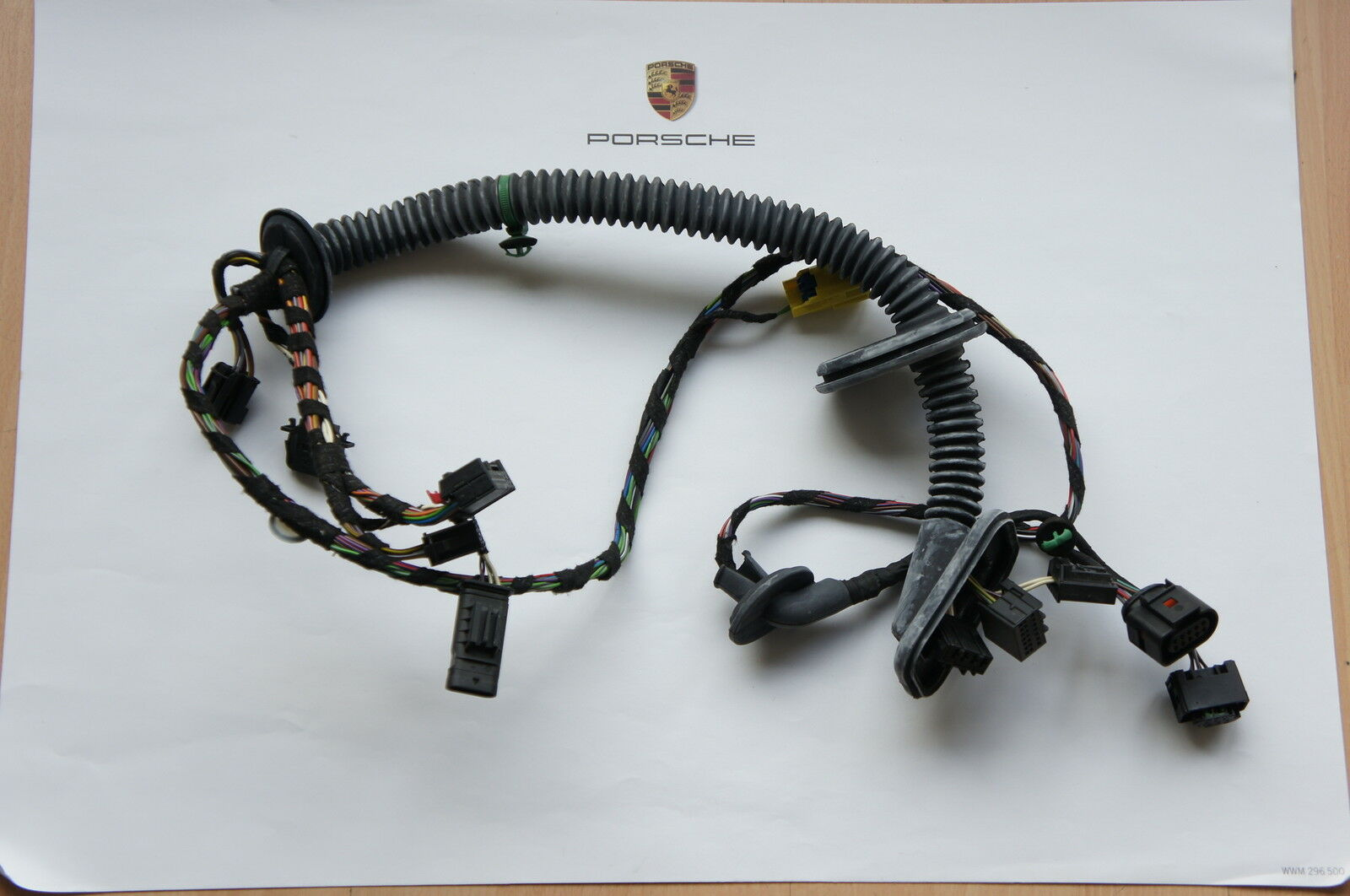 Porsche 970 Panamera Door Wiring Harness Cable Loom Front Left 1 Of 1only Available