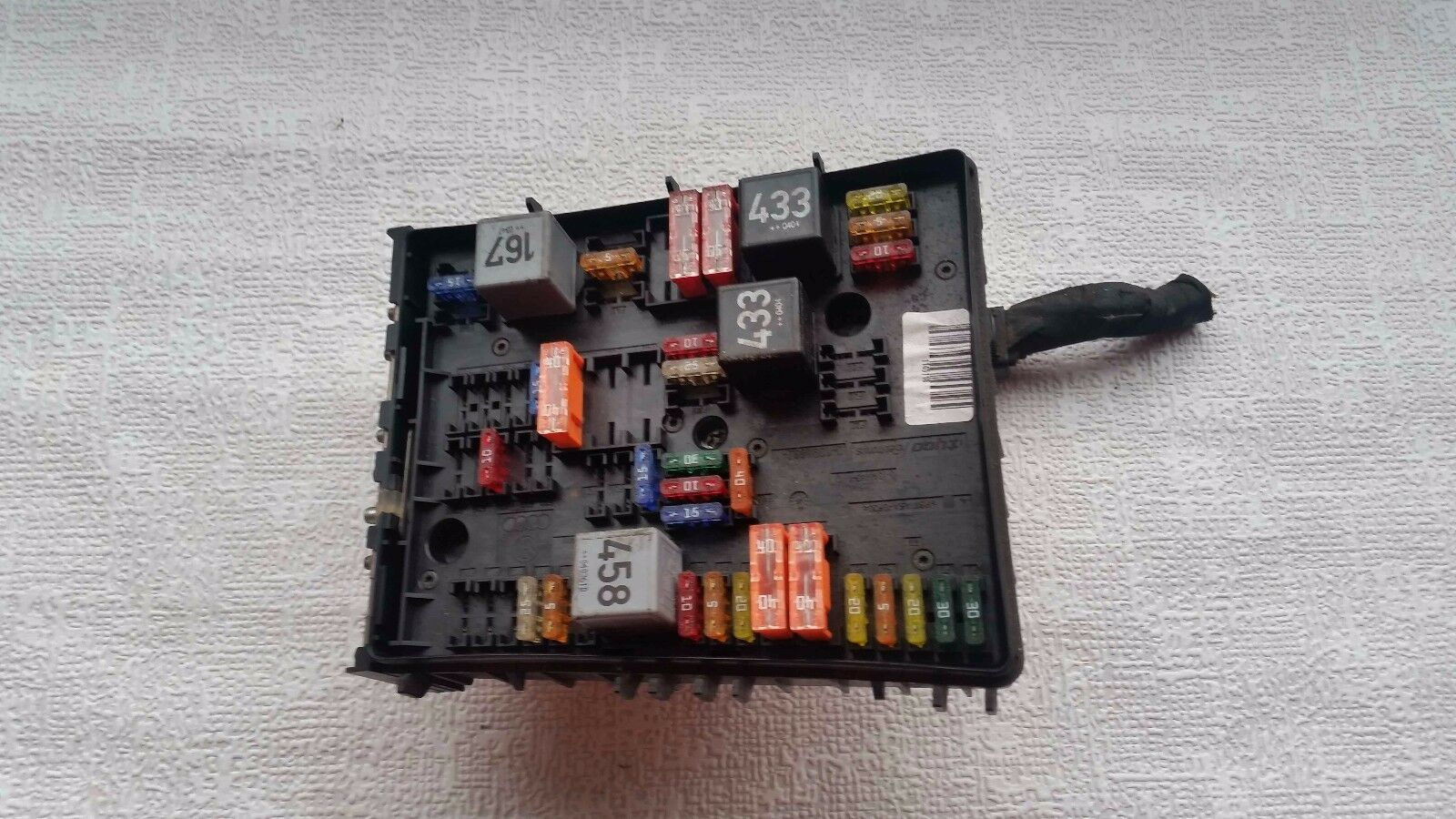 Audi A3 8p 16 Petrol Mk2 Golf Mk5 Fuse Box Relay Board 1k0937124h 1 Of 1only Available