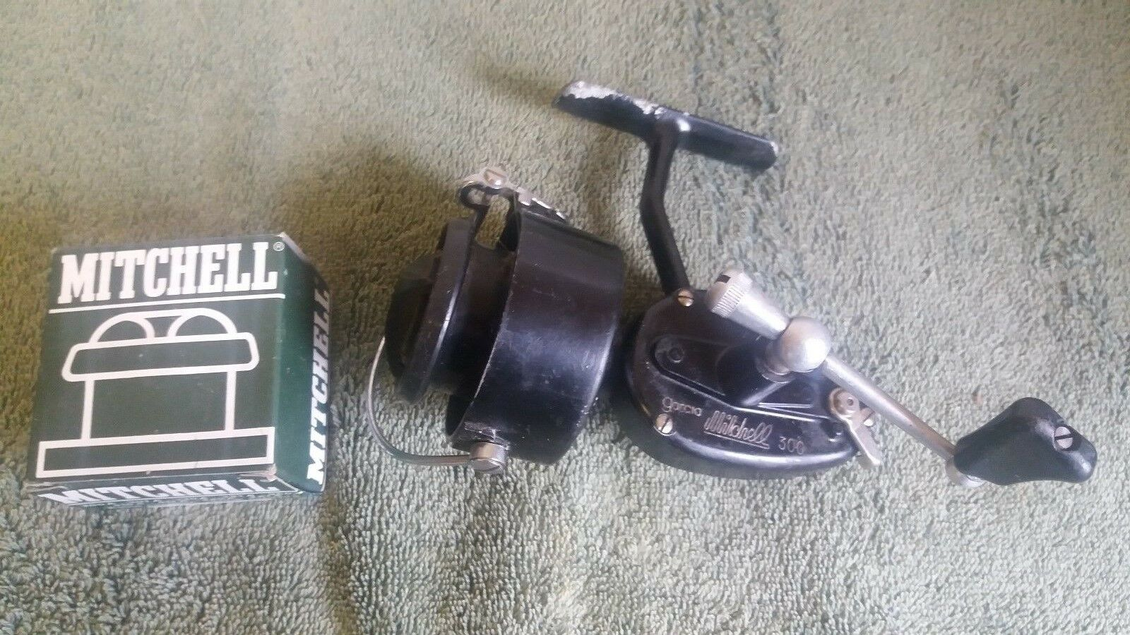 Vintage garcia mitchell 300 high speed fishing reel for Mitchell 300 fishing reel