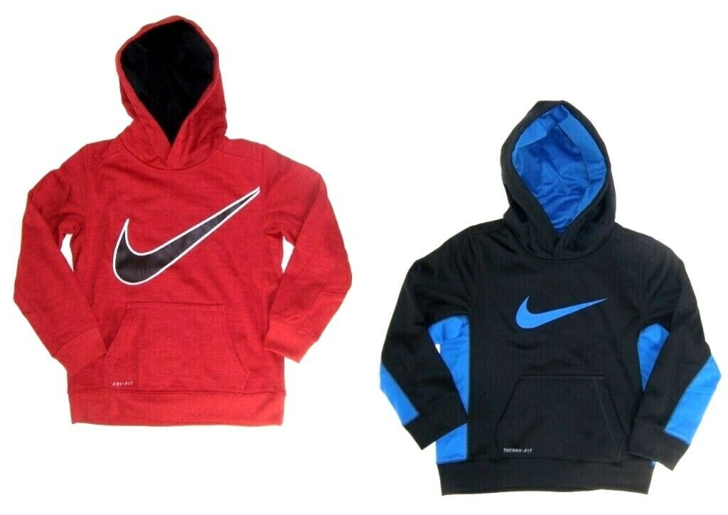 d603bf8a66ec Nike Boy s Dri Fit Sweatshirt   Hoodies NWT Black or Red Sizes 4 or 6 1 of  3Only 2 available ...