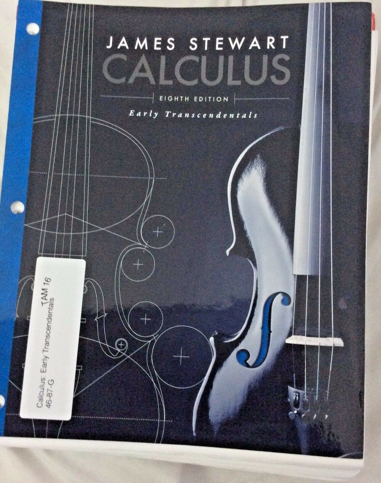Loose leaf calculus early transcendentals by james stewart 8th 1 of 1 see more fandeluxe Gallery