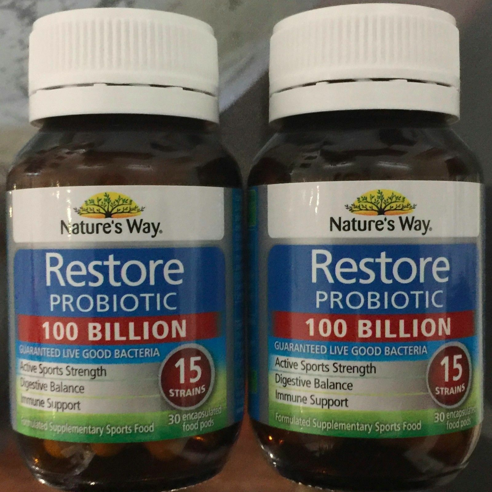 Natures Way Restore Probiotic  Billion