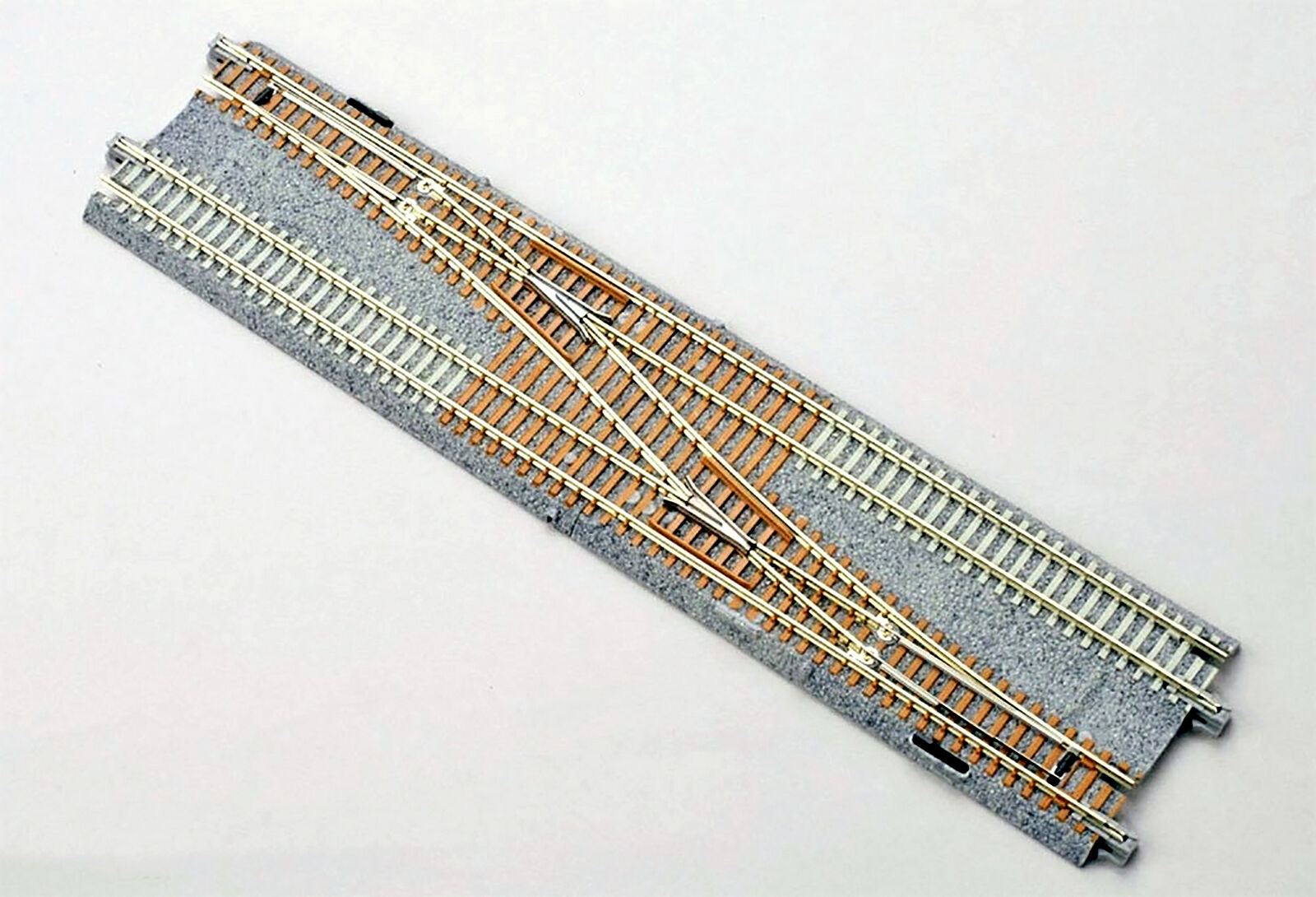 Power Wiring For Kato 20231 Crossovers Electrical Diagram Track N Gauge Unitrack Double 4 Single Crossover Turnout