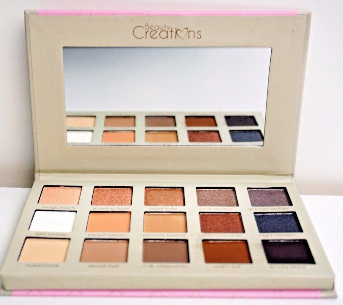 Beauty Creations Butterfly Eyeshadow Palette 996 Picclick Tease Me 1 Of 3free Shipping