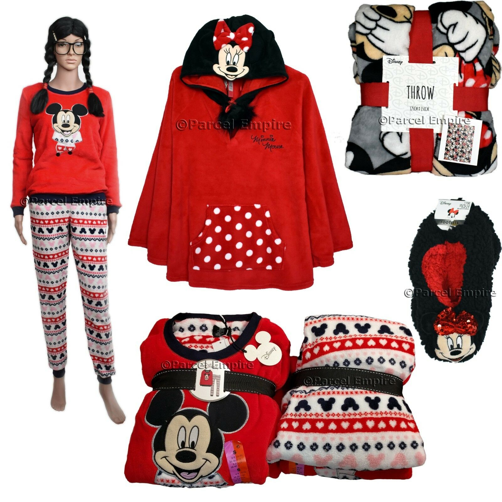 Unique Red Minnie Mouse Dressing Gown Ornament - Best Evening Gown ...
