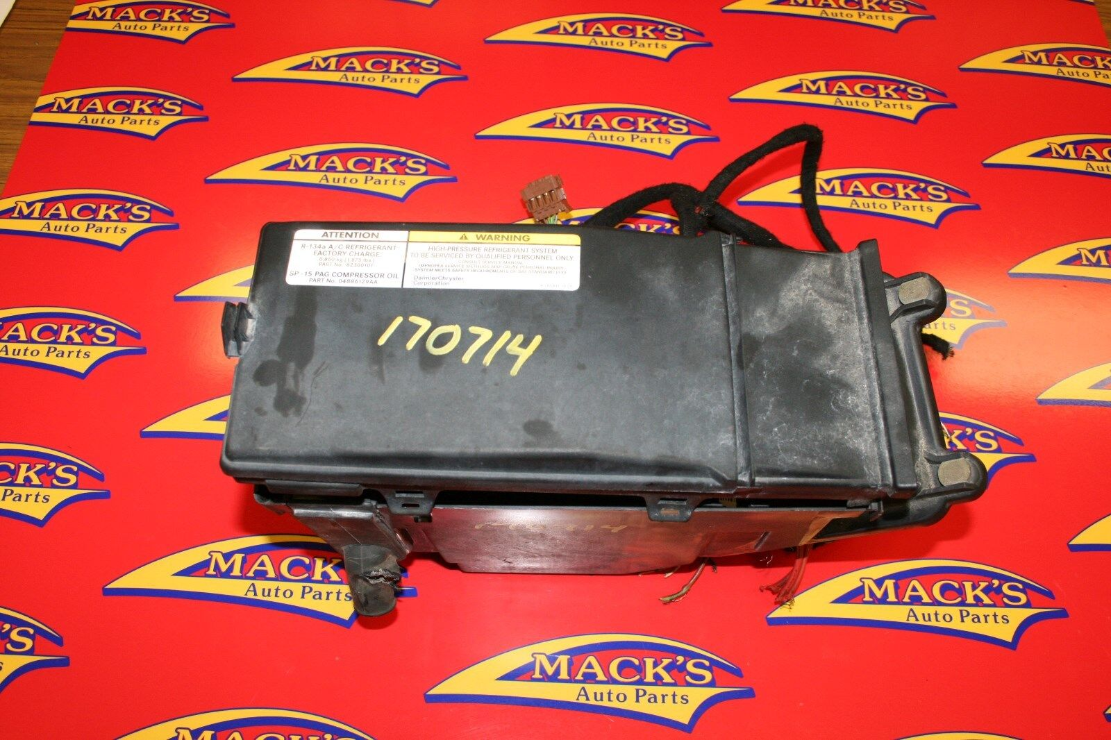 04-08 Chrysler Crossfire Fuse Relay Box Fusebox Assembly 1 of 4Only 1  available See More