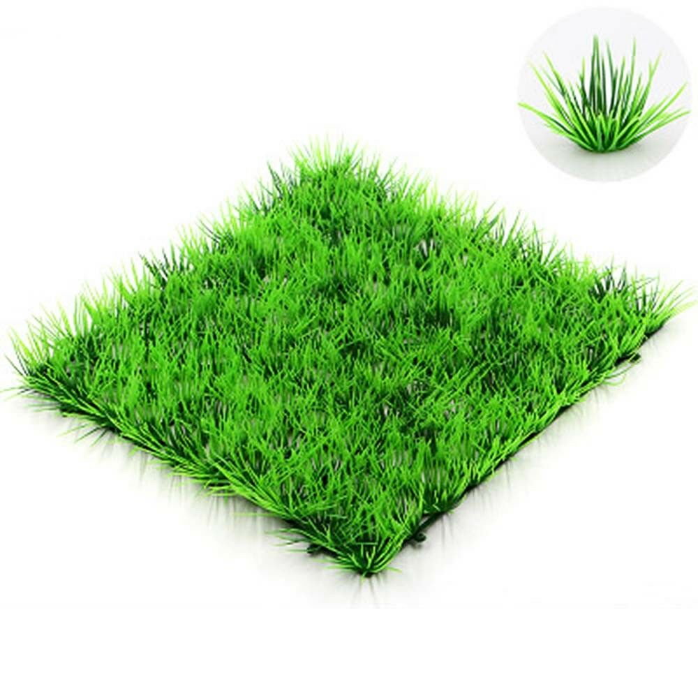 Aquarium simulation aquatic lawn fake grass decor fish for Artificial grass decoration