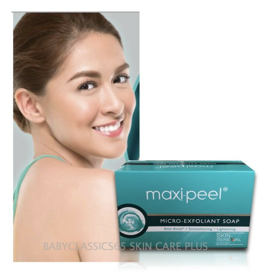 Maxi Peel Micro Exfoliant Soap White 90g No3 Anti Acne Solution 1 Of 1only 2 Available