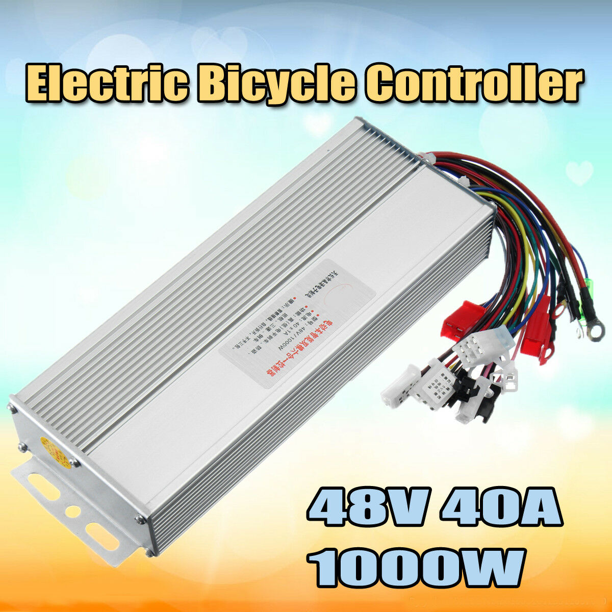 48v 1000w Electric Bicycle Brushless Speed Motor Controller For E Bldc From Reliable Bike Scooter 1 Of 8only 3 Available