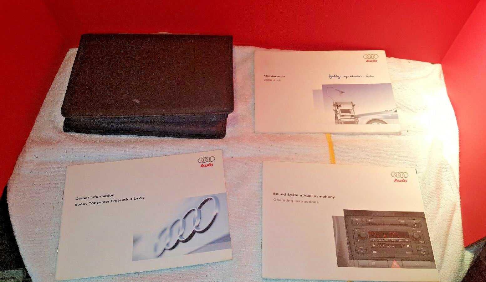 2006 Audi A4 Owners Manual 1 of 2Only 2 available ...