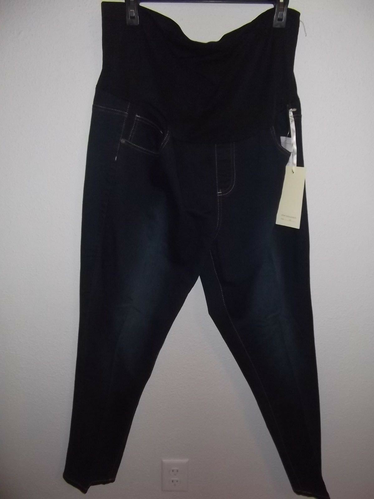 57f9fc077c5 TALA - WOMEN - MATERNITY JEANS - DARK BLUE - SIZE 2XL (DC-1-5x3) 1 of 3Only  3 available ...