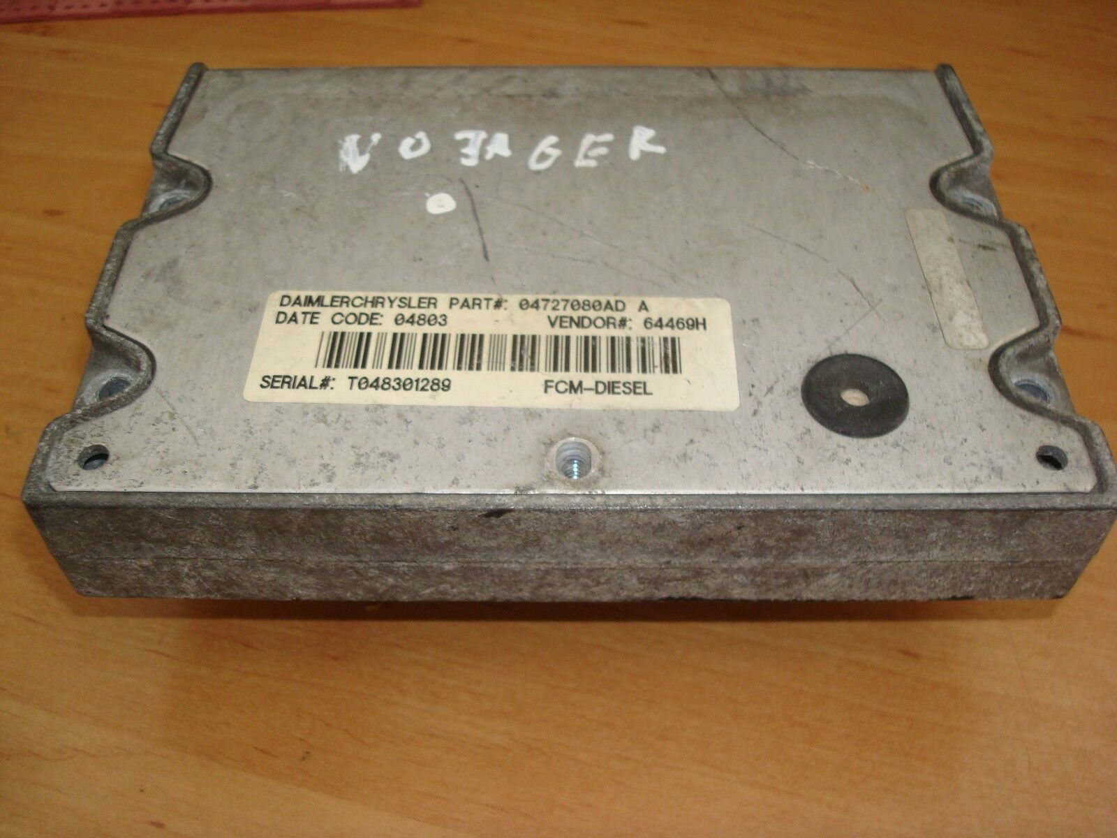 Chrysler Voyager Dodge Jeep Fuse Box Module Ecu Elektr On 1 Of 1only Available