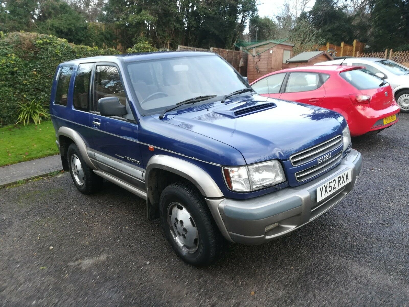 isuzu trooper citation swb - £1,950.00 | picclick uk