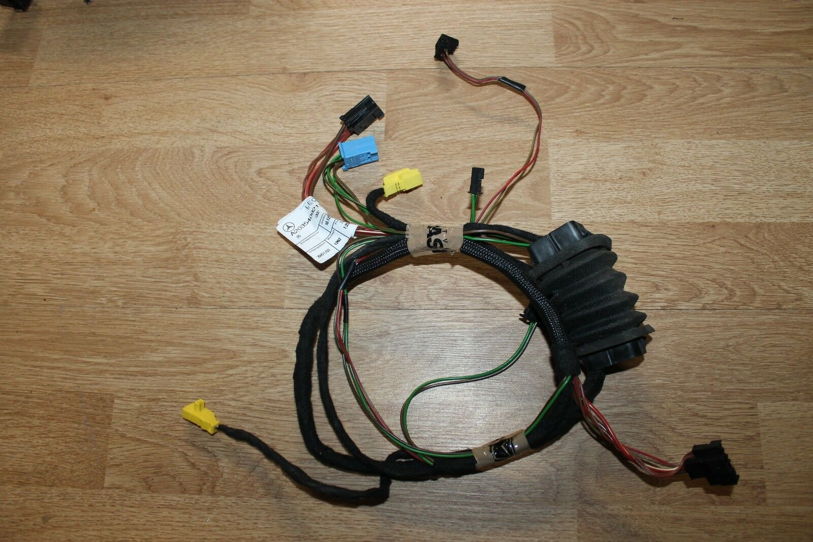 Mercedes Benz Mb C Class W203 Front Right Left Door Wiring Loom E Car Stereo Radio Harness Adapter Iso 2035409213 1 Of 2only Available