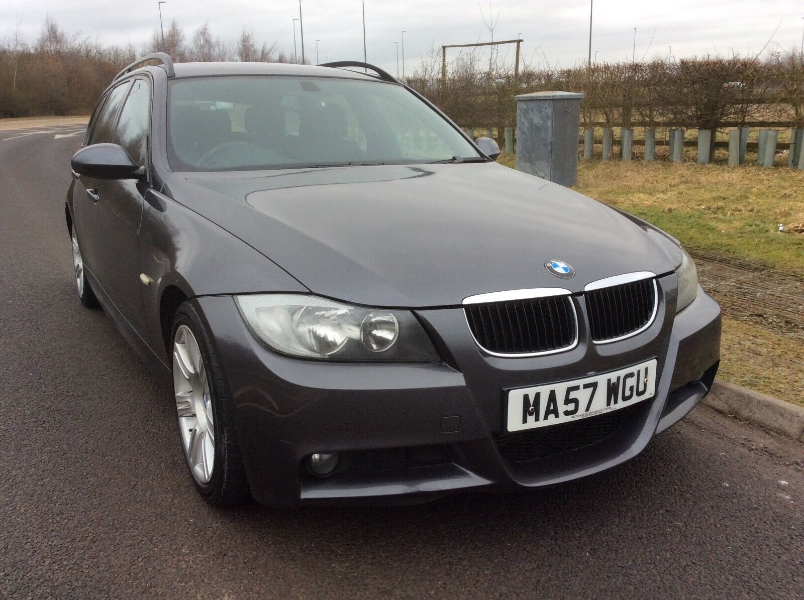2007 bmw 320d m sport diesel estate touring no reserve 2 picclick uk. Black Bedroom Furniture Sets. Home Design Ideas