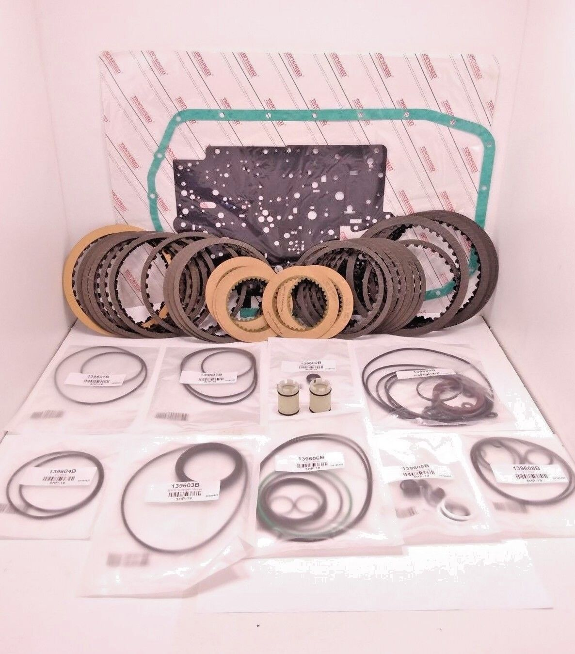 Zf5hp19 Transmission Overhaul Kit With Clutches For Bmw Rings Harness Rostra Wire 5l4oe Seals Frict 1 Of 4only Available See More