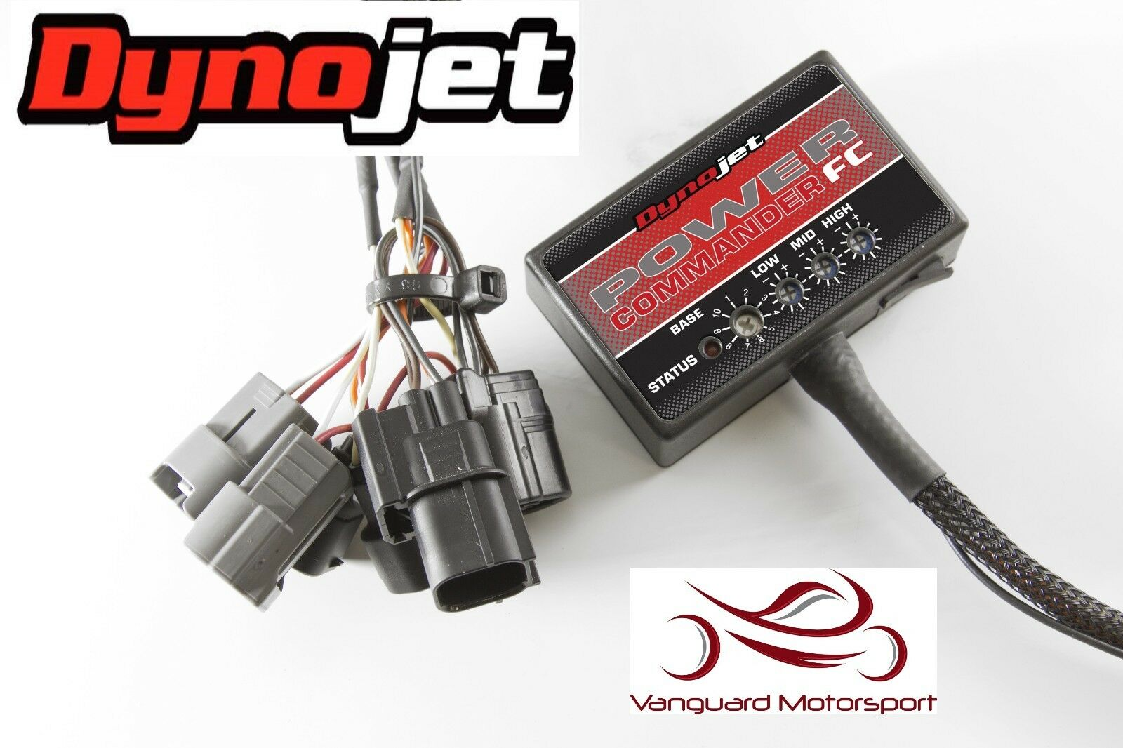 Yamaha Yfz 450 R X 2009 2018 Dynojet Power Commander Fc Fuel Wiring Harness 1 Of 1only Available