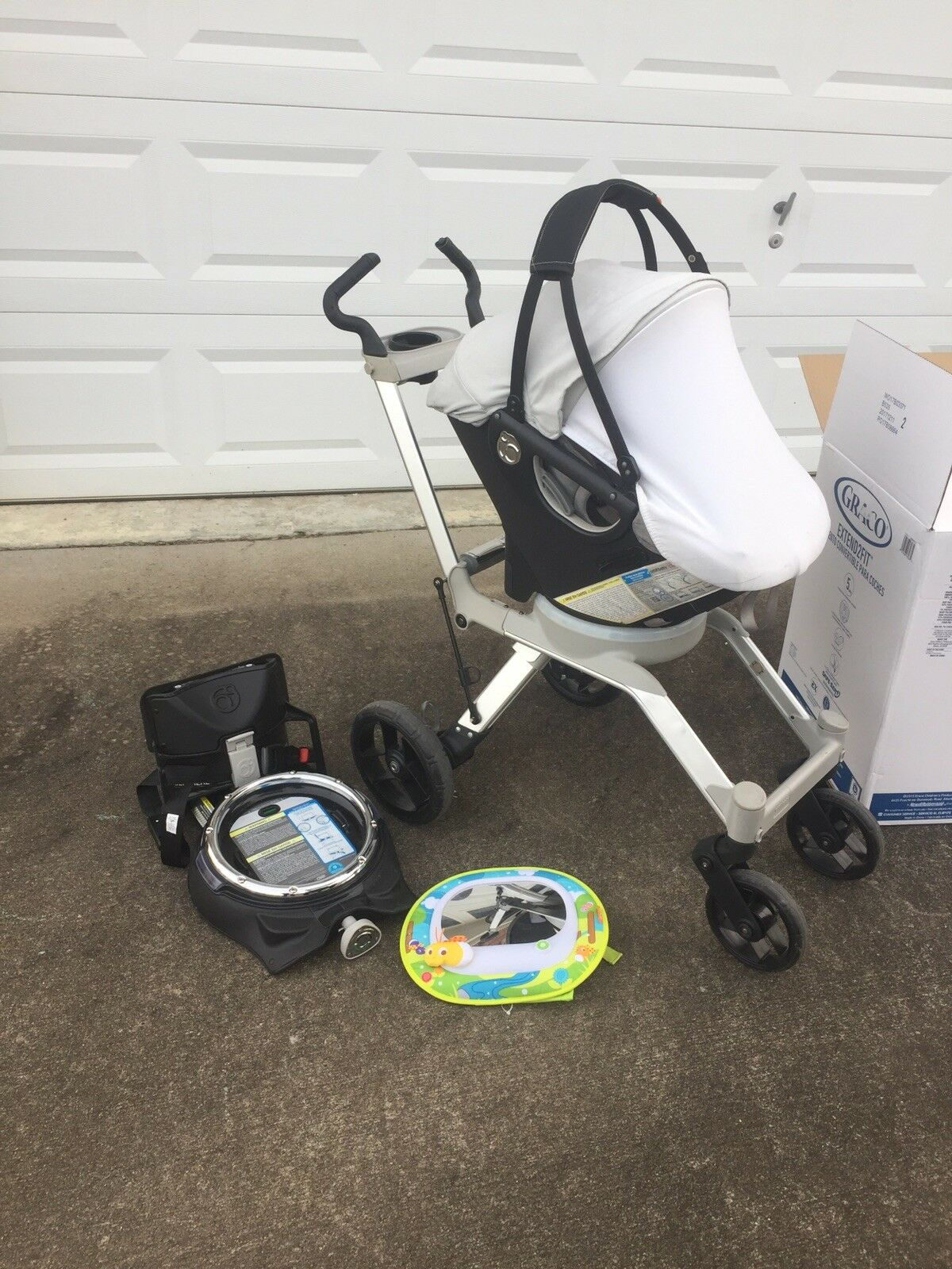 Orbit Baby Infant Car Seat Bas Stroller And Travel Bag 1 Of 5Only Available
