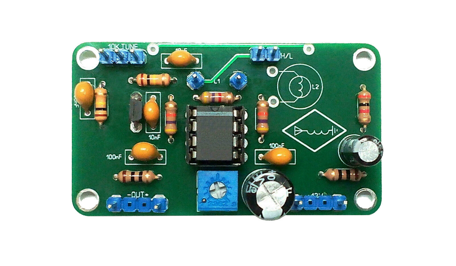 Soldered Amplifier For Active Magnetic Hf Antenna 3mhz 30mhz Hula 5 Watt Uhf Tv 1 Of 5only Available