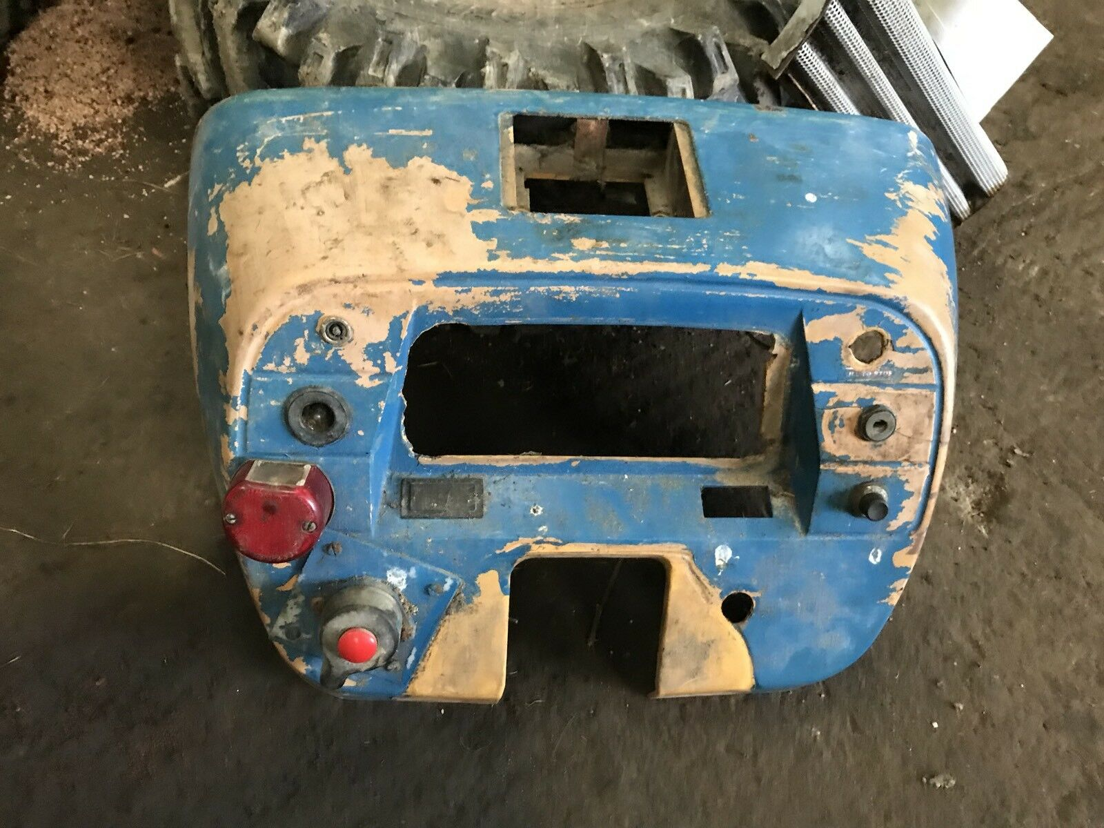 Ford 4610 Fuse Box Just Another Wiring Data 6610 Ap Cab Dash Panel 3910 25 00 Picclick Uk Switch