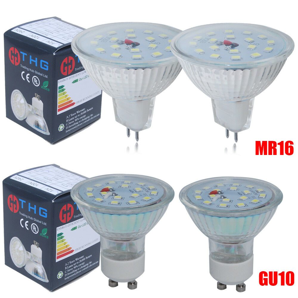 10 4x gu10 mr16 3w 35w 5w 50w 7w 55w 60w smd led bulbs spotlight warm day white eur 1 00. Black Bedroom Furniture Sets. Home Design Ideas